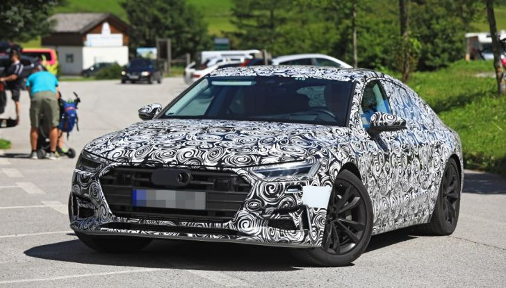 Audi A7, tutta nuova per il 2018 - Foto 15 di 27
