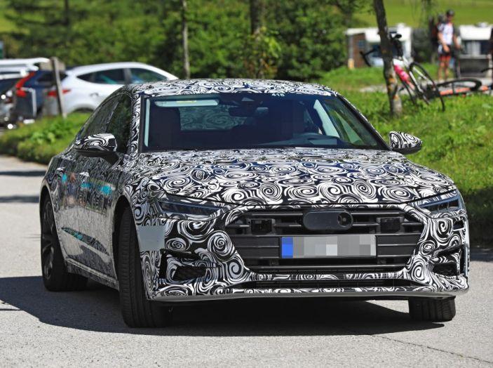 Audi A7, tutta nuova per il 2018 - Foto 16 di 27