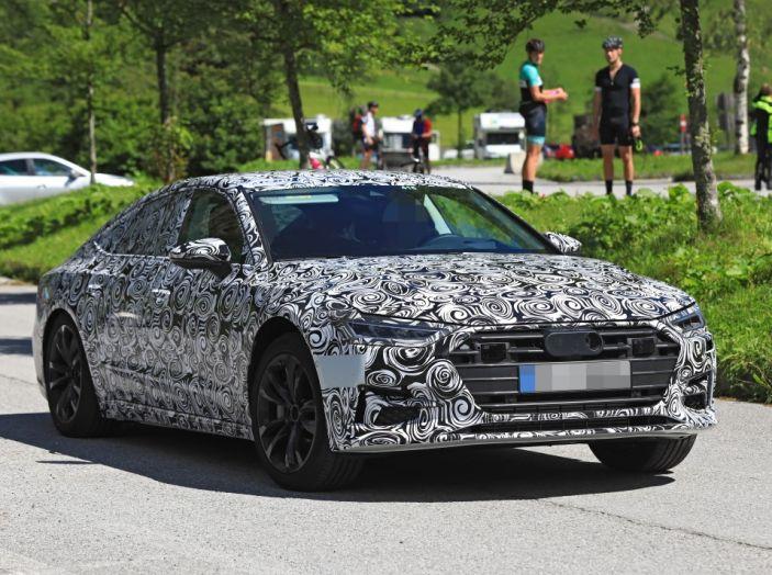 Audi A7, tutta nuova per il 2018 - Foto 17 di 27