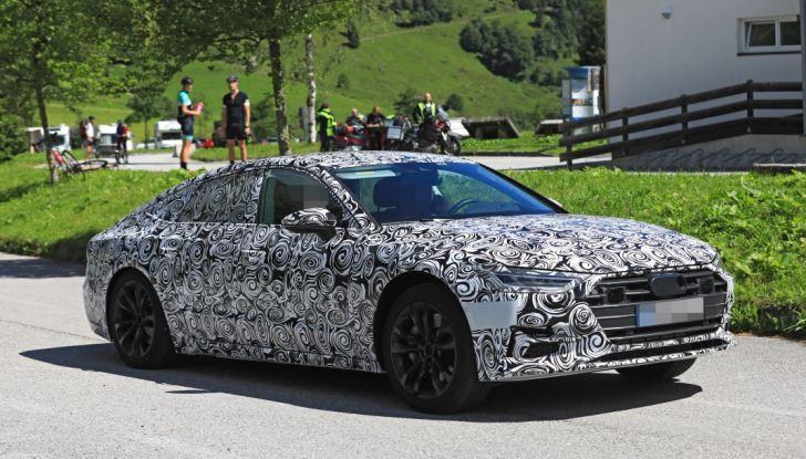 Audi A7, tutta nuova per il 2018 - Foto 18 di 27