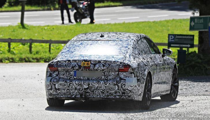 Audi A7, tutta nuova per il 2018 - Foto 21 di 27
