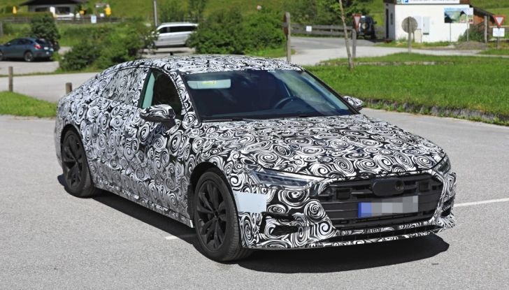 Audi A7, tutta nuova per il 2018 - Foto 22 di 27