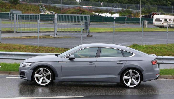 Audi RS5 Sportback 2019, il debutto è alle porte - Foto 4 di 9