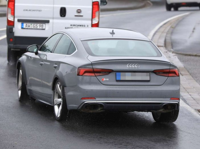 Audi RS5 Sportback 2019, il debutto è alle porte - Foto 7 di 9