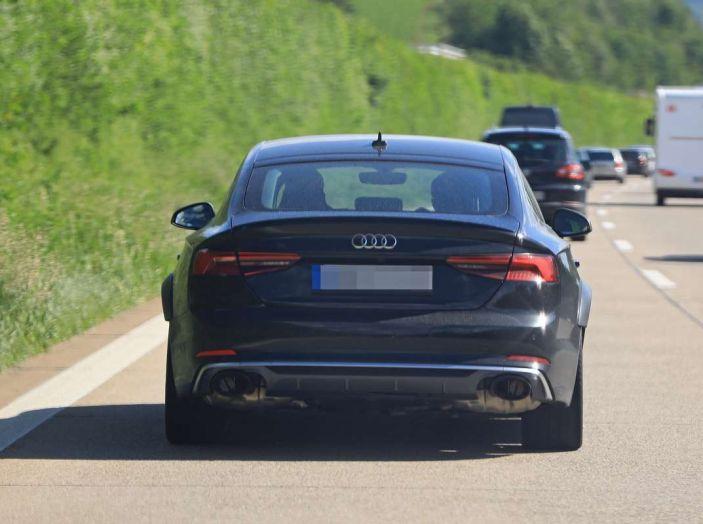 Audi RS5 Sportback 2019, il debutto è alle porte - Foto 9 di 9