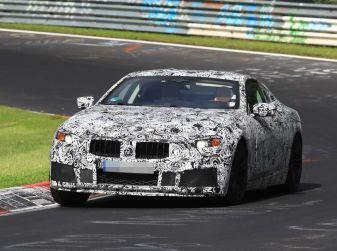 BMW Serie 8 Coupè, test in pista in vista del debutto