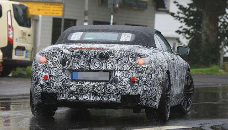 BMW M8 Cabrio dettagli tecnici e prime immagini - Foto 11 di 16
