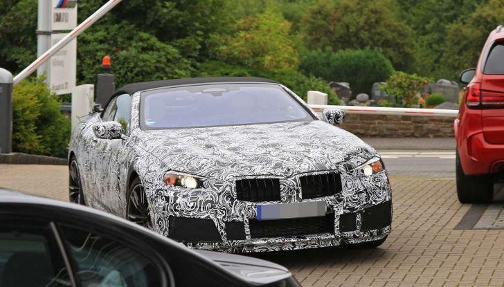 BMW M8 Cabrio dettagli tecnici e prime immagini - Foto 13 di 16