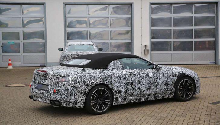 BMW M8 Cabrio dettagli tecnici e prime immagini - Foto 15 di 16
