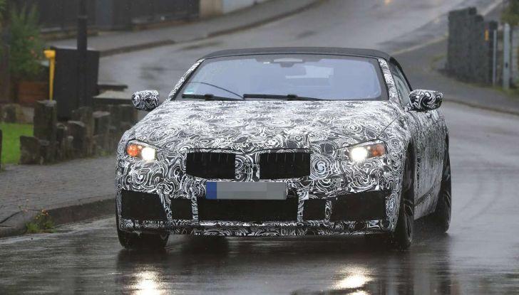 BMW M8 Cabrio dettagli tecnici e prime immagini - Foto 3 di 16
