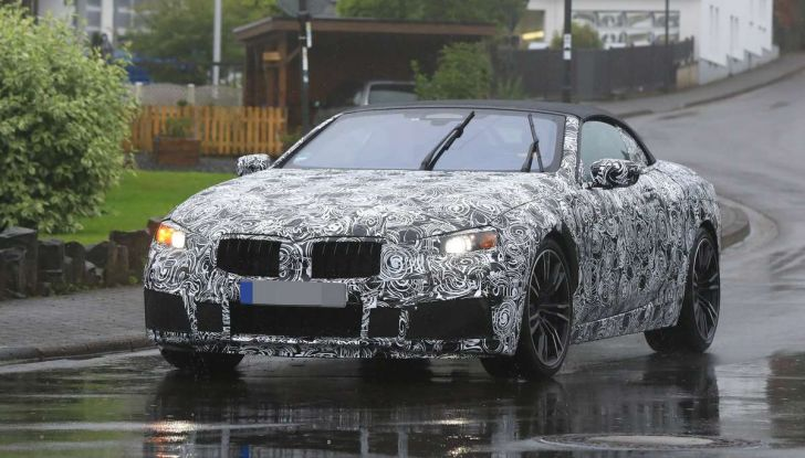 BMW M8 Cabrio dettagli tecnici e prime immagini - Foto 4 di 16