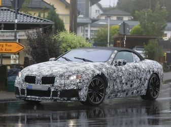 BMW M8 Cabrio dettagli tecnici e prime immagini