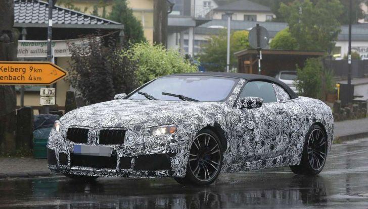 BMW M8 Cabrio dettagli tecnici e prime immagini - Foto 1 di 16