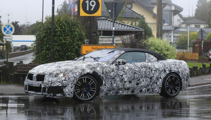 BMW M8 Cabrio dettagli tecnici e prime immagini - Foto 5 di 16