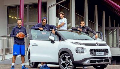 Citroën C3 Aircross partner della Nazionale italiana a EuroBasket
