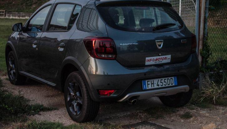 Dacia Sandero Stepway 0.9 TCe 90 CV Brave, prova su strada della versione GPL - Foto 23 di 29