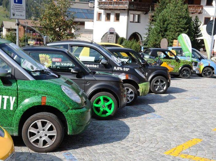 ECOdolomites 2017, gara di consumi tra auto elettriche - Foto 8 di 8