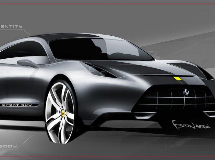Crossover Ferrari 2018, Marchionne conferma il nuovo modello - Foto 5 di 5