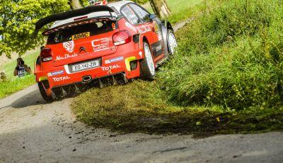 WRC Germania - Shakedown: tre C3 WRC nella top 5