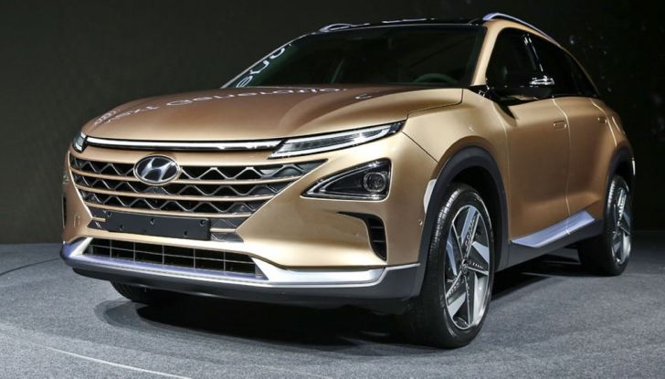 Hyundai: il nuovo SUV che viagga a idrogeno per 580Km con un pieno - Foto 3 di 3