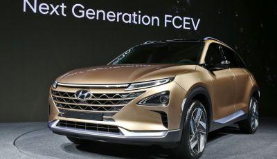 Hyundai: il nuovo SUV che viagga a idrogeno per 580Km con un pieno