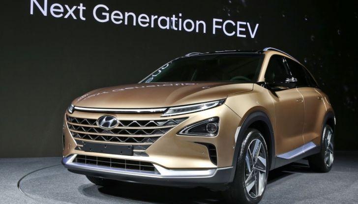 Hyundai: il nuovo SUV che viagga a idrogeno per 580Km con un pieno - Foto 1 di 3