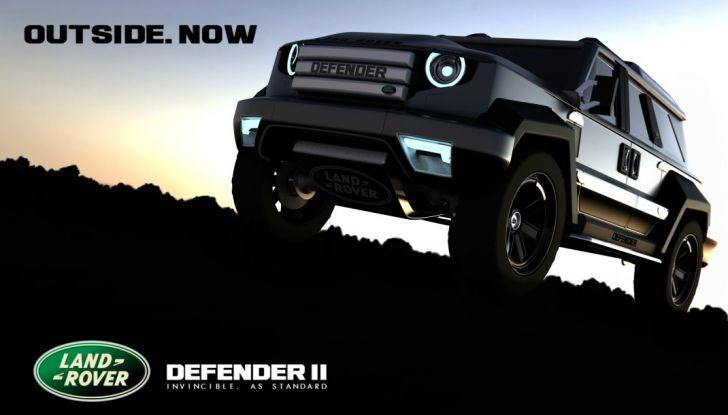 Land Rover Defender II 2018: La leggenda continua - Foto 1 di 4