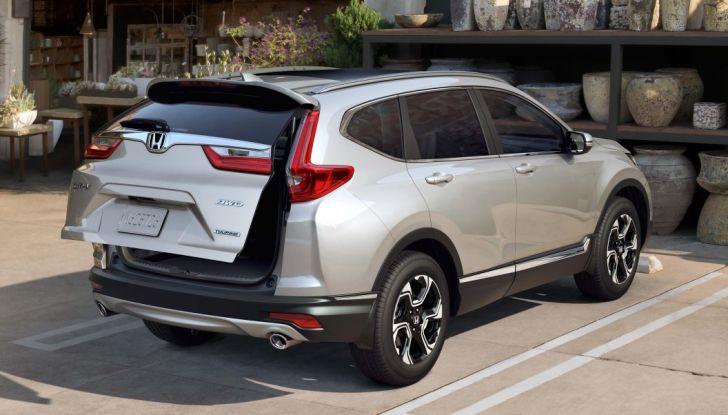 Nuova Honda CR-V 2018: tutte le info sul nuovo SUV di Tokyo - Foto 6 di 9