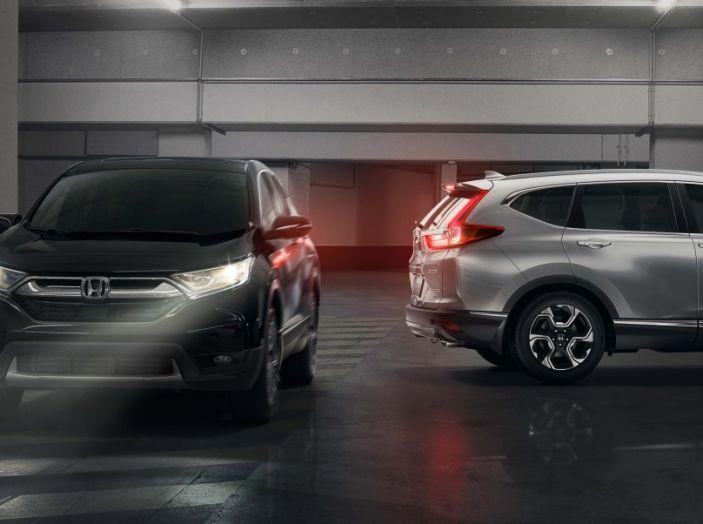Nuova Honda CR-V 2018: tutte le info sul nuovo SUV di Tokyo