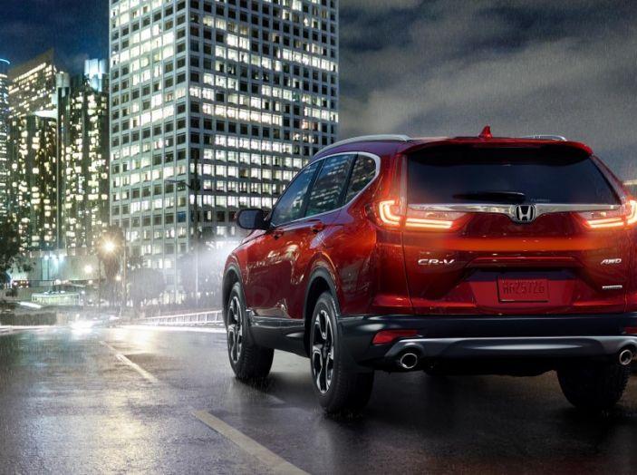 Nuova Honda CR-V 2018: tutte le info sul nuovo SUV di Tokyo - Foto 8 di 9