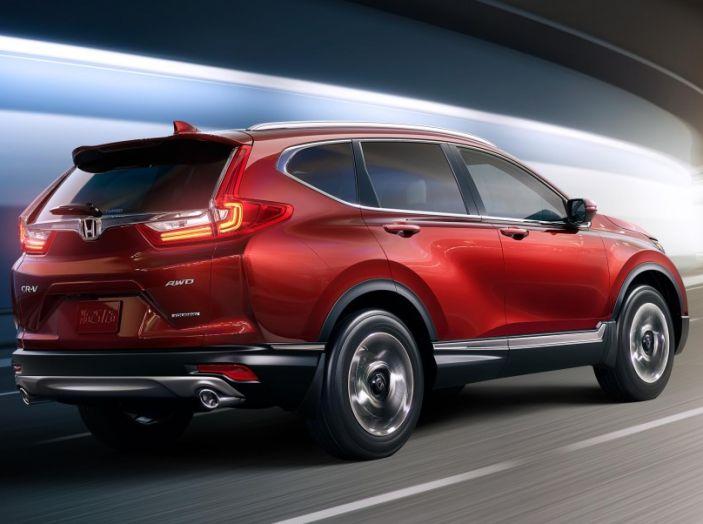 Nuova Honda CR-V 2018: tutte le info sul nuovo SUV di Tokyo - Foto 2 di 9