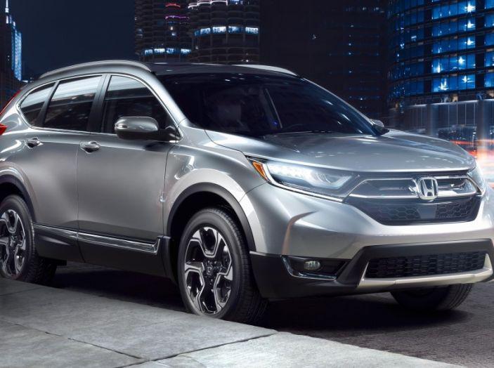 Nuova Honda CR-V 2018: tutte le info sul nuovo SUV di Tokyo - Foto 4 di 9