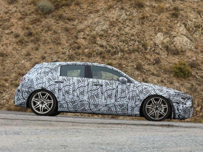 Mercedes-AMG A45 2018, i primi test della compatta sportiva - Foto 12 di 31