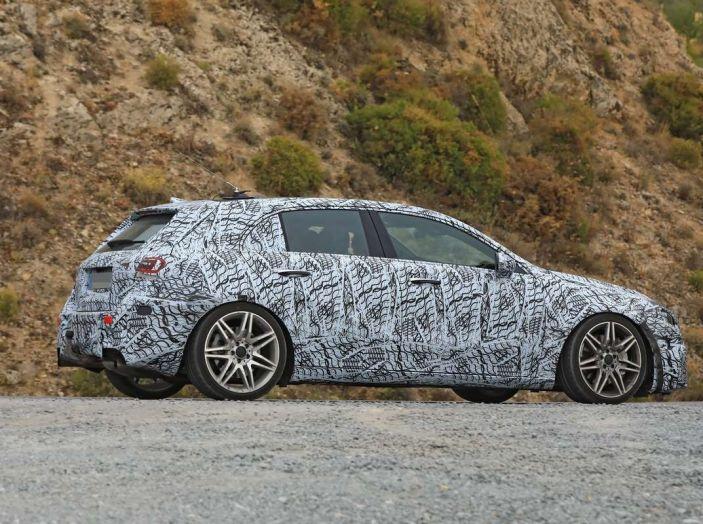Mercedes-AMG A45 2018, i primi test della compatta sportiva - Foto 14 di 31
