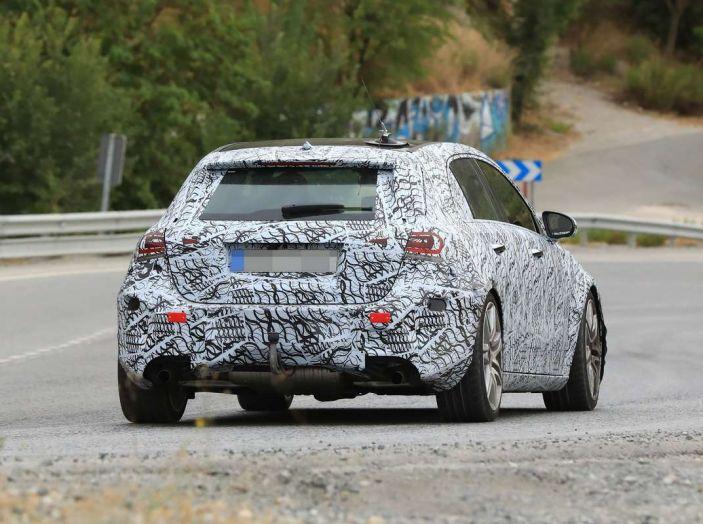 Mercedes-AMG A45 2018, i primi test della compatta sportiva - Foto 16 di 31