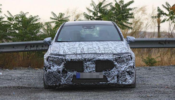 Mercedes-AMG A45 2018, nuovi test della compatta sportiva - Foto 21 di 31