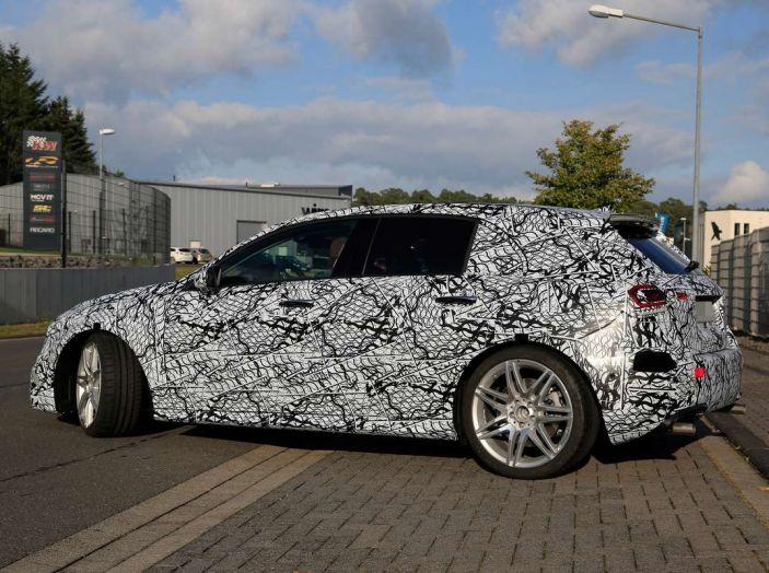 Mercedes-AMG A45 2018, i primi test della compatta sportiva - Foto 30 di 31