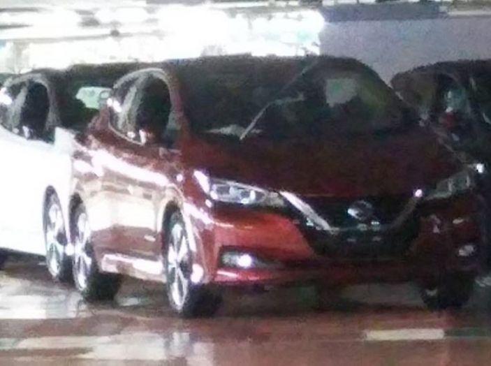 Nuova Nissan Leaf MY2018, la seconda generazione debutta entro fine anno - Foto 1 di 12