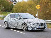 Mercedes-AMG A45 2018, nuovi test della compatta sportiva