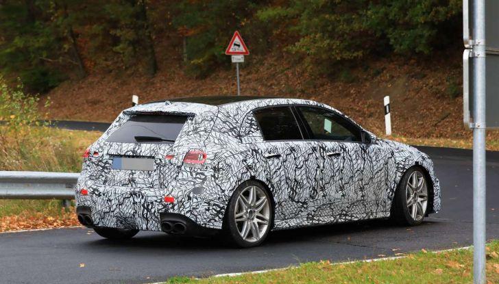 Mercedes-AMG A45 2018, nuovi test della compatta sportiva - Foto 2 di 31