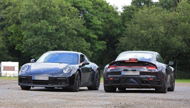 Nuova Porsche 911, nata al Nurburgring - Foto 13 di 14