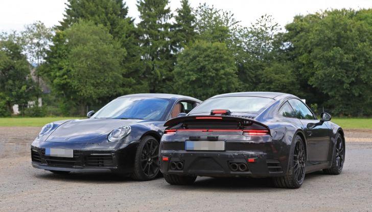 Nuova Porsche 911, nata al Nurburgring - Foto 14 di 14