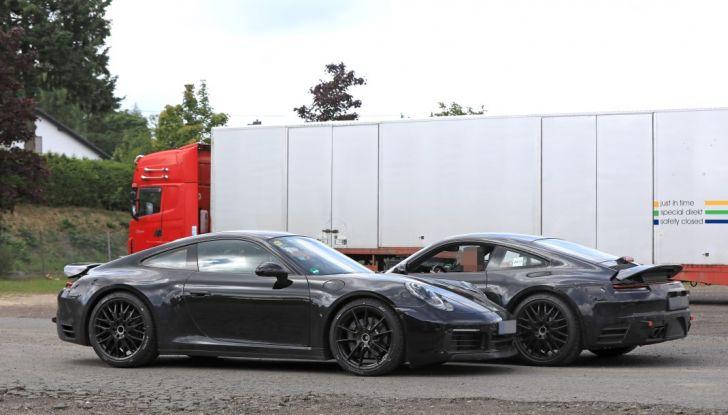 Nuova Porsche 911, nata al Nurburgring - Foto 6 di 14