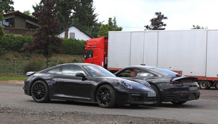 Nuova Porsche 911, nata al Nurburgring - Foto 7 di 14