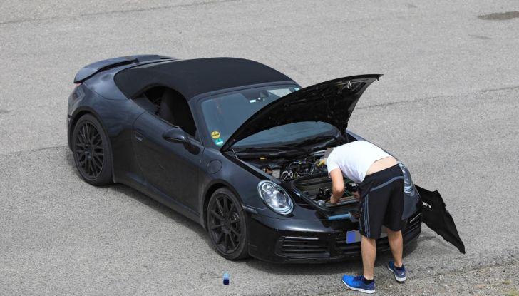Nuova Porsche 911, nata al Nurburgring - Foto 3 di 14