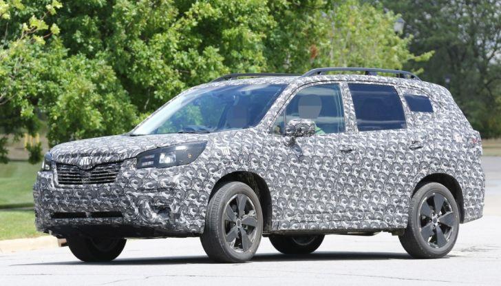 Nuovo Subaru Forester 2019 - Foto 2 di 9