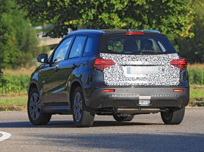 Suzuki Vitara Facelift primi dettagli tecnici e informazioni - Foto 3 di 16
