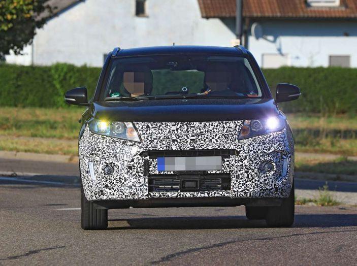 Suzuki Vitara Facelift primi dettagli tecnici e informazioni - Foto 11 di 16