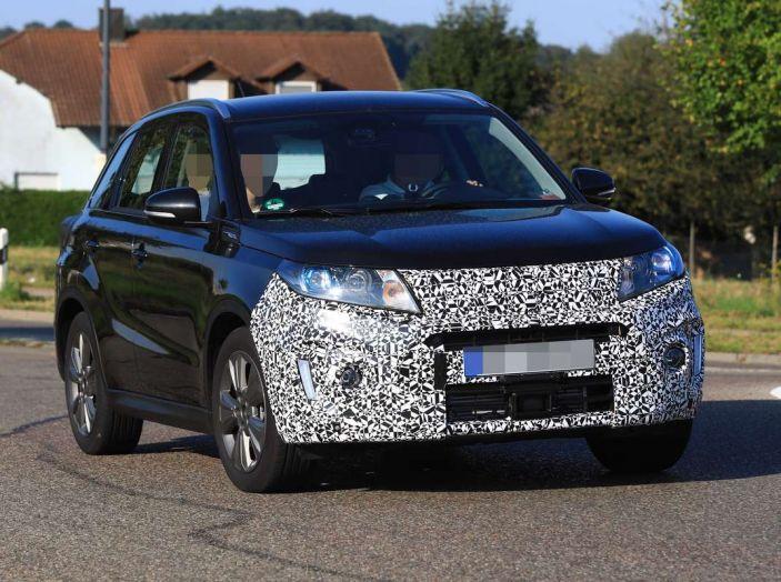 Suzuki Vitara Facelift primi dettagli tecnici e informazioni - Foto 12 di 16