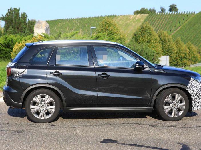 Suzuki Vitara Facelift primi dettagli tecnici e informazioni - Foto 13 di 16